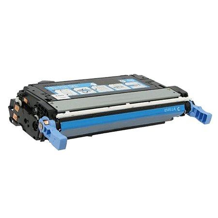 Cartucho de Toner Mecsupri Compatível com  HP C9731A Ciano 645A