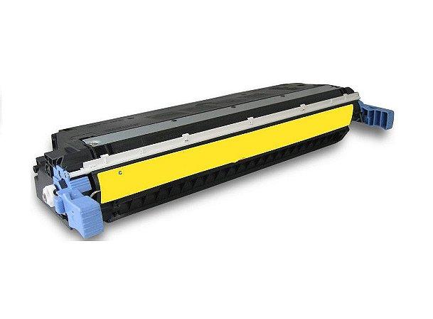 Cartucho de Toner HP C9732A - 645A - Amarelo - Mecsupri