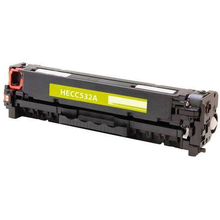 Compativel: Cartucho de Toner HP CC532A - 304A - Amarelo - Mecsupri