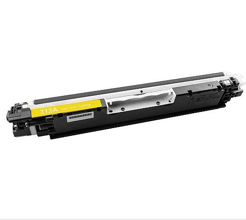 Compativel: Cartucho de Toner HP 126A Amarelo CE312A Mecsupri