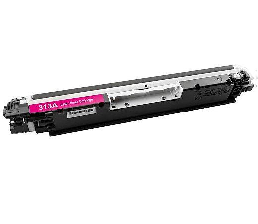 Compativel: Cartucho de Toner HP 126A Magenta CE313A Mecsupri