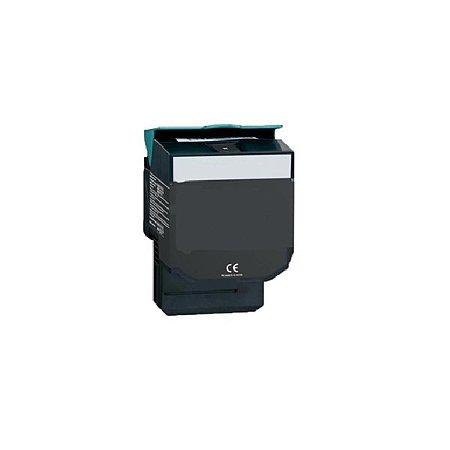 Cartucho de Toner Mecsupri Compatível com Lexmark C544 Preto C544X1KG