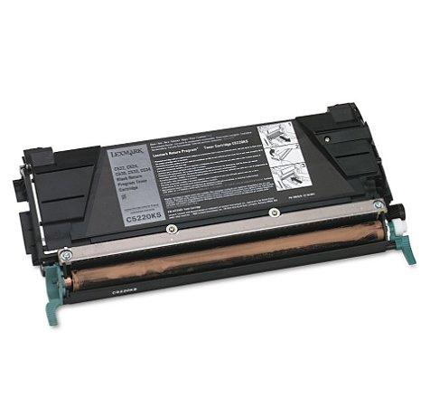 Cartucho de Toner Mecsupri Compatível com Lexmark C522 Black C5220KS