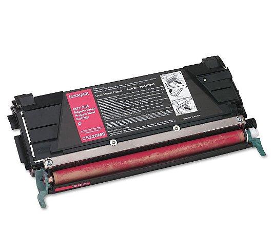 Cartucho de Toner Lexmark - C522 - C5220MS - Magenta - Mecsupri