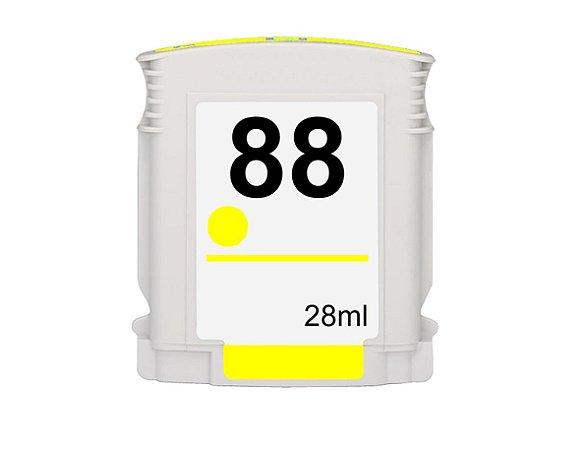 Compativel: Cartucho de Tinta HP 88XL - Amarelo - C9393AL - Mecsupri