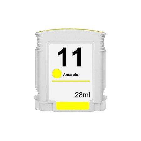 Compativel: Cartucho de Tinta HP 11 Amarelo C4838A Mecsupri