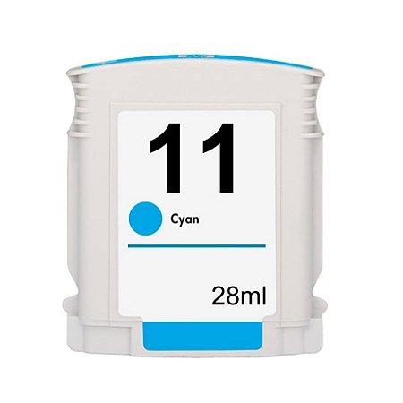 Compativel: Cartucho de Tinta HP 11 - C4836A - Ciano - Mecsupri