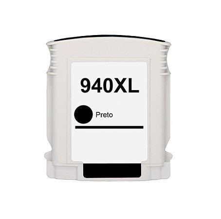 Cartucho de Tinta HP 940XL - C4906A - Preto - Mecsupri