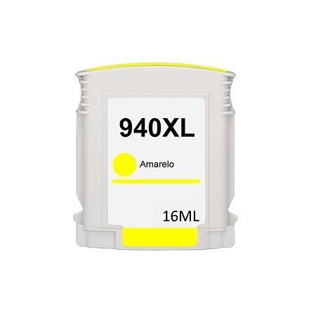 Cartucho de Tinta HP 940XL - C4909AL - Amarelo - Mecsupri