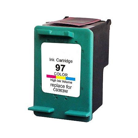Cartucho de Tinta HP 97 - C9363WB - Colorido - Mecsupri