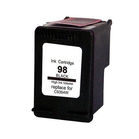 Compativel: Cartucho de Tinta HP 98 Preto C9364WL Mecsupri