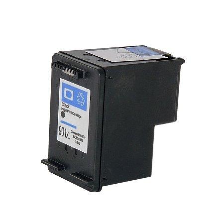 Cartucho de Tinta HP 901XL - CC654A - Preto - Mecsupri