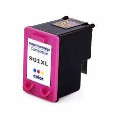 Cartucho de Tinta Mecsupri Compatível com HP 901XL Colorido CC656AB