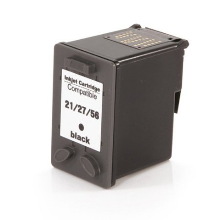 Compativel: Cartucho de Tinta HP 27 Preto C8727AB Mecsupri