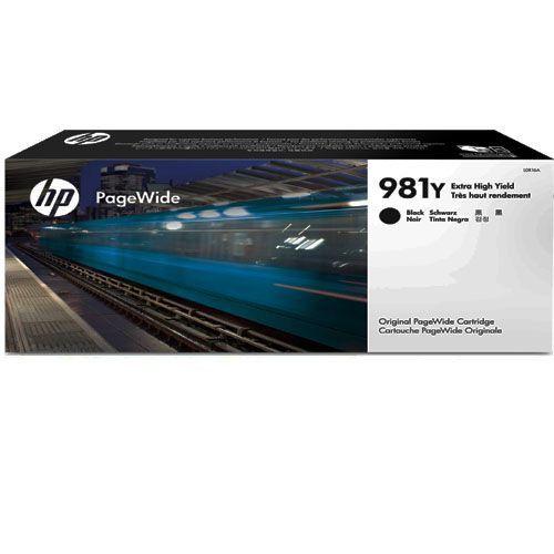 Cartucho Pagewide HP 981Y Preto L0R16A Original
