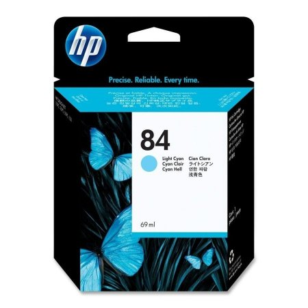 Cartucho de Plotter Original HP 84 (C5017A)  Ciano Claro  de 69 ml