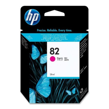 Cartucho HP 82 Magenta 28 ml CH567A original cx 1 unidade