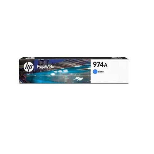 Cartucho de Tinta HP 974A Ciano L0R87AL Original
