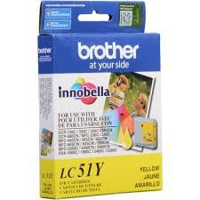 Cartucho de Tinta Brother LC51Y  Yellow Original
