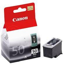 CARTUCHO ORIGINAL PG 50 (CANON 50) PRETO