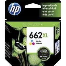 Cartucho HP 662xl colorido CZ106AB Original