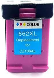 Cartucho de Tinta Mecsupri compatível com HP 662XL colorido CZ106AB