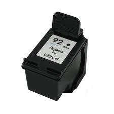 Cartucho de Tinta Mecsupri Compatível com  HP 92 preto C9362WL