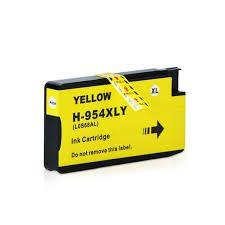 Cartucho de Tinta Mecsupri Compatível com  HP 954XL Amarelo L0S68AB  27ml