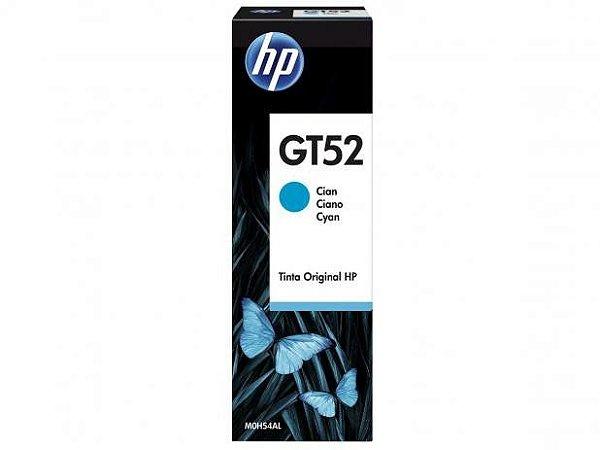 Garrafa de Tinta HP Ciano GT52 M0H54AL para HP DeskJet GT 5822 Original
