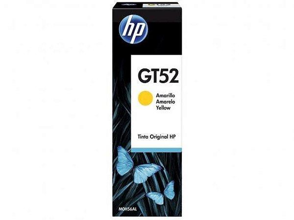 Garrafa de Tinta HP Yellow GT52 para HP DeskJet GT 5822 Original