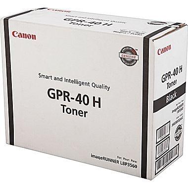 Cartucho de toner Canon GPR40 H Preto 3482B005AA Original