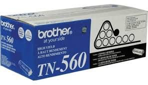 Cartucho de Toner Brother TN560 Preto 6.500PG P/5070/5040 Original