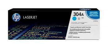 Toner HP 304A Ciano Laserjet Original (CC531A) Para HP Laserjet CP2025dn, CM2320n, CM2320nf CX 1 UN