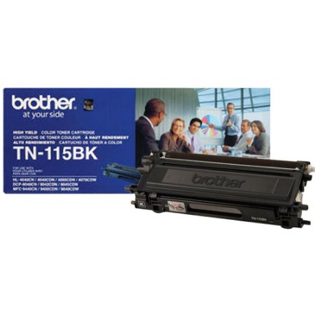 Cartucho de Toner Brother Preto TN115BK p/5000 pgs. Original