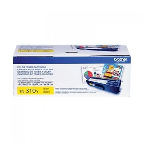 Cartucho de Toner Brother TN310Y Amarelo Original