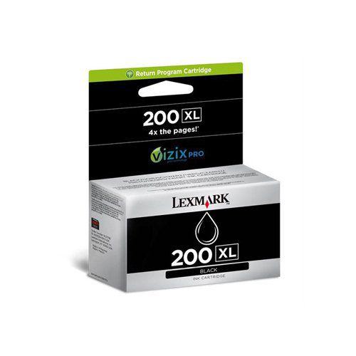 Cartucho de Tinta Lexmark Original 200XL 14L0174 Preto