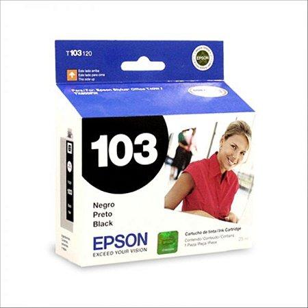 Cartucho de Tinta Epson Preto 103 PRETO T103120