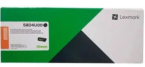 CARTUCHO DE TONER LEXMARK 58DBU00 PRETO - 55.000 PGS MS823 MS826 MX722