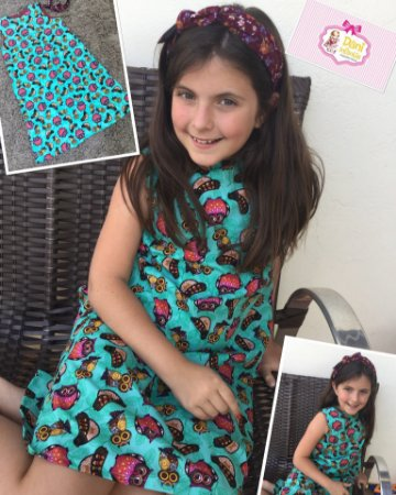 Vestido corujinha