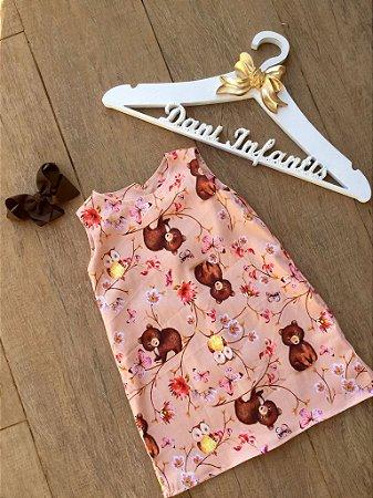 vestido ursinho