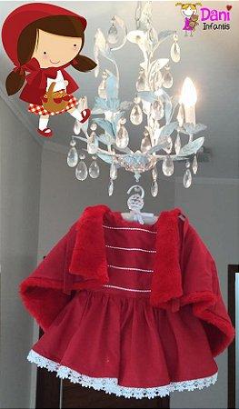 Vestido Chapeuzinho vermelho