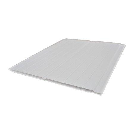 Forro de PVC Branco 7mm x 20cm x 6,00m - Allas