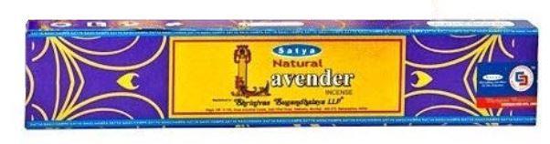 INCENSO SATYA LAVENDER (LAVANDA) 15 G