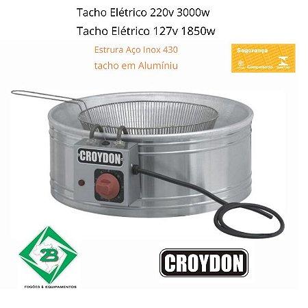 Tacho De Fritura Elétrico Super Luxo 7 Litros TFSL Croydon