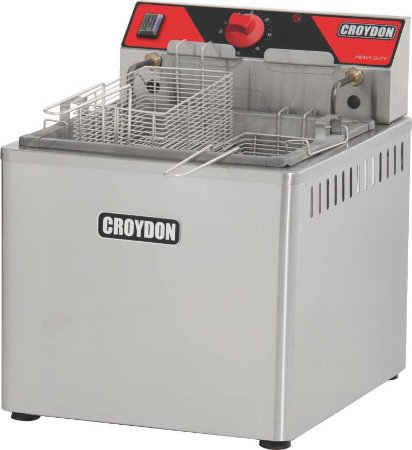 Fritadeira Eletr. de Mesa 5000w (água e óleo) CROYDON