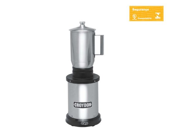 Triturador 2 Litros (base Inox) Croydon