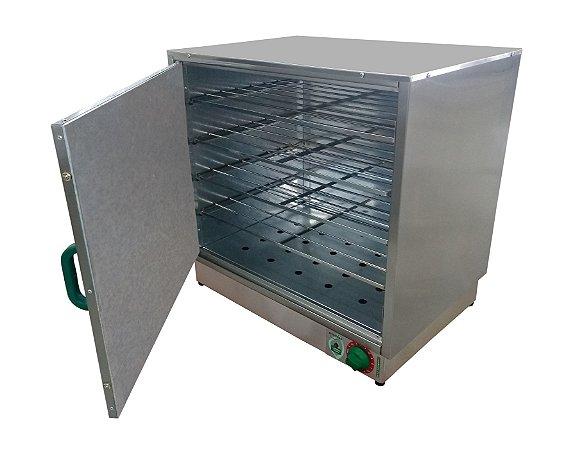 Estufa a Seco para aquecer marmitas com capacidade p/ 50 Marmitas Marca Metalnox