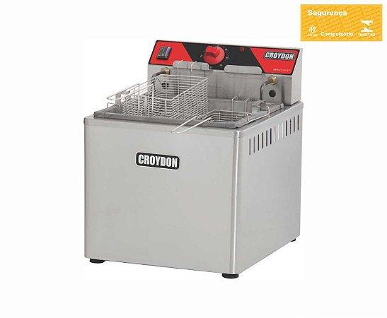 Fritadeira Elétrica De Mesa 5000w (zona Fria) FZM5 Croydon