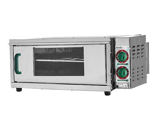 Forno Elétrico (50x50) PC2 Pizza 220v Refratário Lastro Metalnox