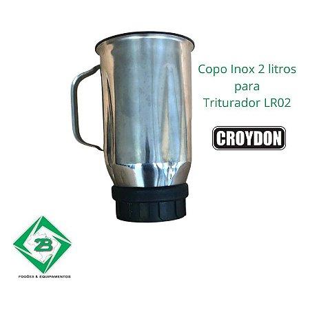 Copo Liquidificador Triturador Croydon 2 Litros